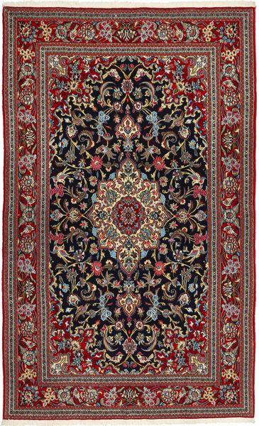 Qum Sherkat Farsh Rug 150X260 Authentic  Oriental Handknotted Brown/Dark Grey (Wool, Persia/Iran)