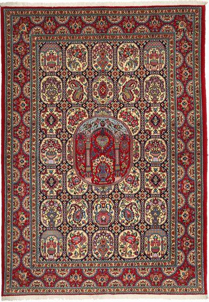 Ghom Sherkat Farsh Matto 170X240 Itämainen Käsinsolmittu Ruskea/Tummanharmaa (Villa, Persia/Iran)