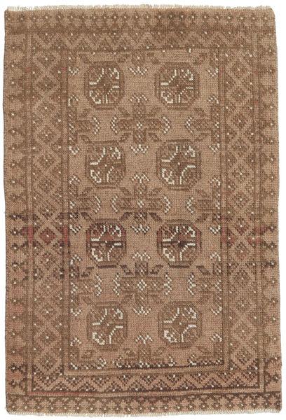 Afghan Rug 76X110 Authentic  Oriental Handknotted Brown (Wool, Afghanistan)