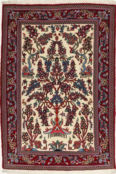 Ghom Sherkat Farsh Vloerkleed 84X118 Echt Oosters Handgeknoopt Donkerrood/Donkerbruin (Wol, Perzië/Iran)