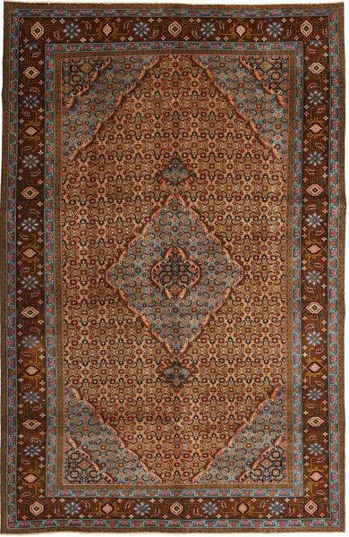 Ardebil Patina Matto 192X297 Itämainen Käsinsolmittu Ruskea/Vaaleanruskea (Villa, Persia/Iran)