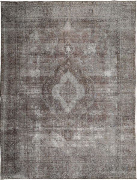 Colored Vintage Rug 289X383 Authentic  Modern Handknotted Dark Grey/Light Grey Large (Wool, Persia/Iran)