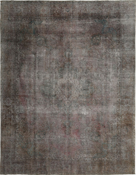 Colored Vintage Rug 293X382 Authentic  Modern Handknotted Dark Grey Large (Wool, Persia/Iran)