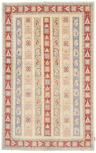 Ziegler Matto 163X260 Itämainen Käsinsolmittu Beige/Vaaleanruskea (Villa, Pakistan)