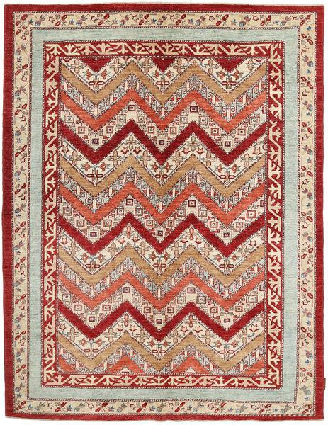 Ziegler Matto 173X227 Itämainen Käsinsolmittu Tummanpunainen/Beige (Villa, Pakistan)