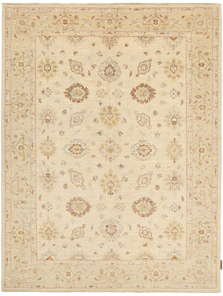Ziegler Rug 156X197 Authentic  Oriental Handknotted Dark Beige/Beige (Wool, Pakistan)