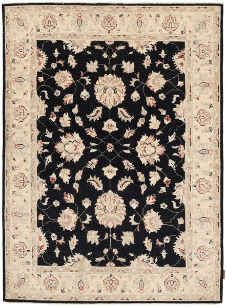 Ziegler Matto 151X206 Itämainen Käsinsolmittu Vaaleanruskea/Tummanvioletti (Villa, Pakistan)