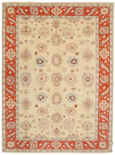 Ziegler Matto 235X306 Itämainen Käsinsolmittu Vaaleanruskea/Punainen (Villa, Pakistan)