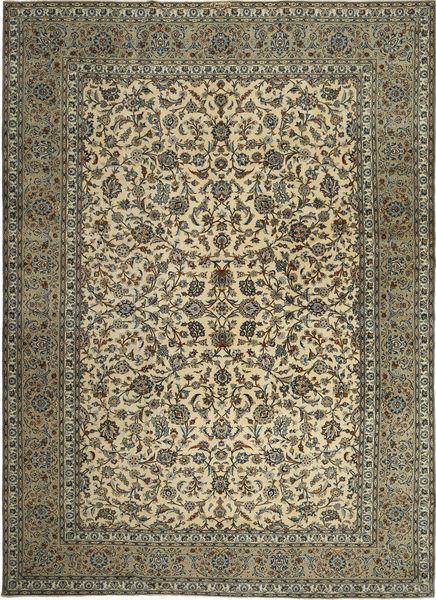 Keshas Signed: Pahlavani Rug 290X413 Authentic  Oriental Handknotted Olive Green/Dark Brown Large (Wool, Persia/Iran)