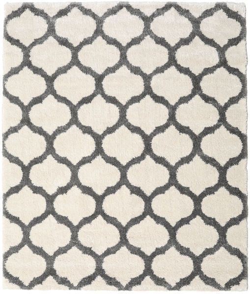 Berber Shaggy Illusia - Off White / Grey carpet CVD16114