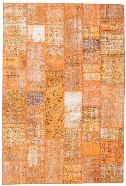 Patchwork Rug 200X298 Authentic  Modern Handknotted Light Brown/Orange (Wool, Turkey)