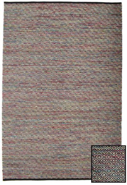 Hugo - Multi/Tumma Matto 160X230 Moderni Käsinkudottu Tummanruskea/Vaaleanruskea ( Intia)