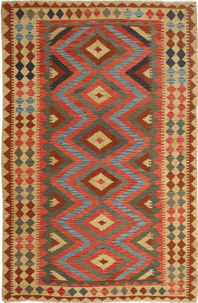 Kelim Afghan Old style-matto AXVQ632