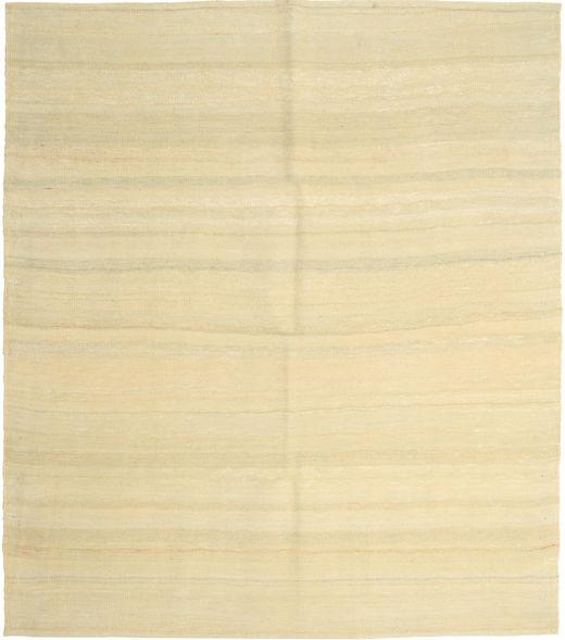 Kilim Nowoczesne Dywan 161X186 Nowoczesny Tkany Ręcznie Beżowy (Wełna, Persja/Iran)