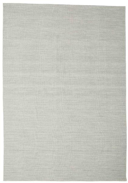 Kilim Loom - Grey rug CVD14581
