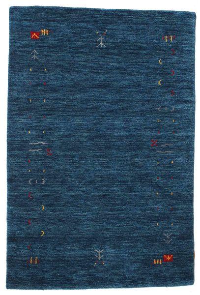 Gabbeh Loom Frame - Ciemnoniebieski Dywan 100X160 Nowoczesny Ciemnoniebieski (Wełna, Indie)
