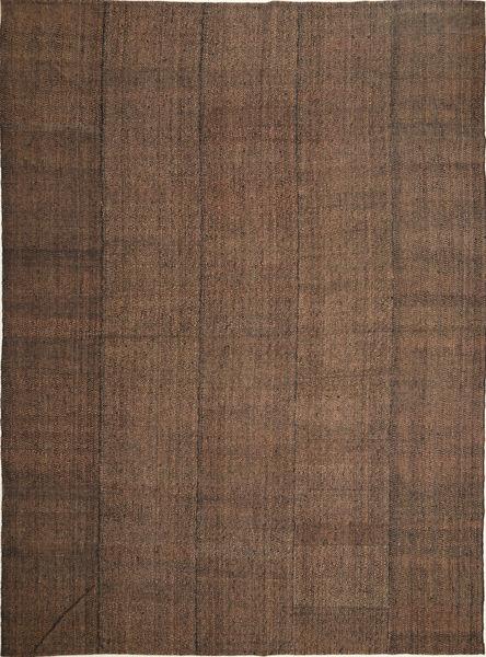 Kelim Moderne Teppe 252X347 Ekte Moderne Håndvevd Brun/Mørk Brun Stort (Ull, Persia/Iran)