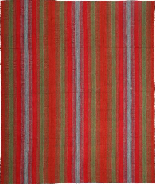 Kelim Moderni Matto 247X300 Moderni Käsinkudottu Ruoste/Tummanpunainen (Villa, Persia/Iran)