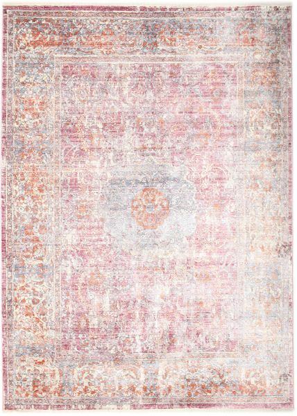 Mira - Pink Rug 170X240 Modern Light Pink/Beige ( Turkey)