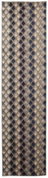 Yam - 1 Rug 80X300 Modern Hallway Runner  Light Brown/Purple ( Turkey)