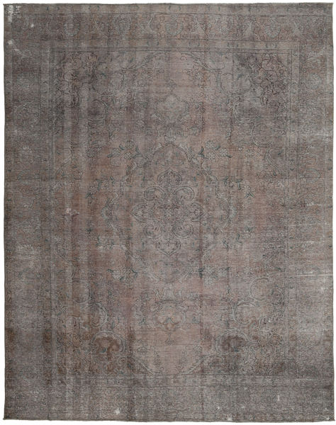Colored Vintage Rug 289X372 Authentic  Modern Handknotted Dark Grey/Light Grey Large (Wool, Persia/Iran)