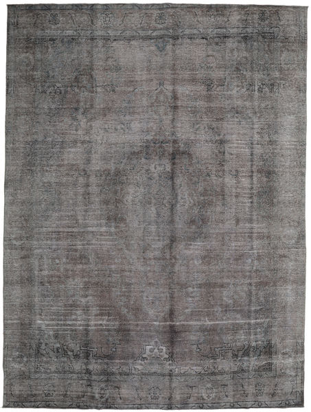 Colored Vintage Rug 289X389 Authentic  Modern Handknotted Dark Grey/Light Grey Large (Wool, Persia/Iran)