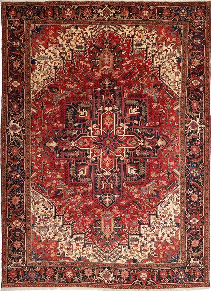 Heriz Rug 248X344 Authentic  Oriental Handknotted Dark Red/Rust Red (Wool, Persia/Iran)