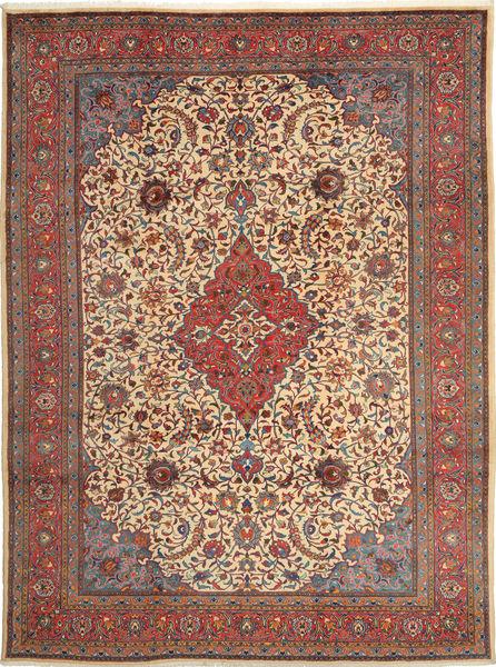 Sarough Matto 250X338 Itämainen Käsinsolmittu Vaaleanruskea/Ruskea Isot (Villa, Persia/Iran)