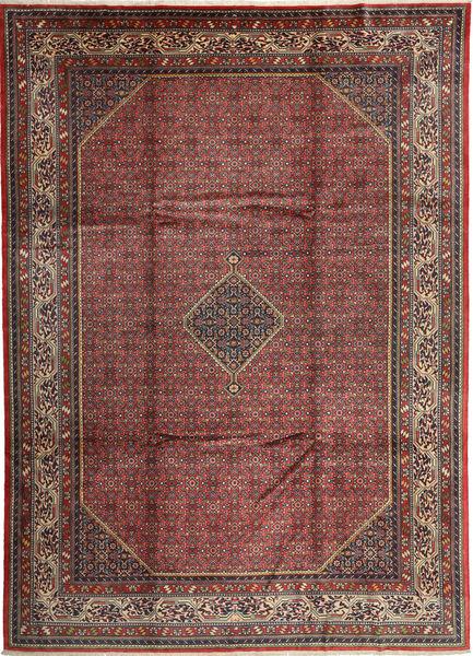 Enjelos Rug 261X363 Authentic  Oriental Handknotted Dark Grey/Dark Red Large (Wool, Persia/Iran)