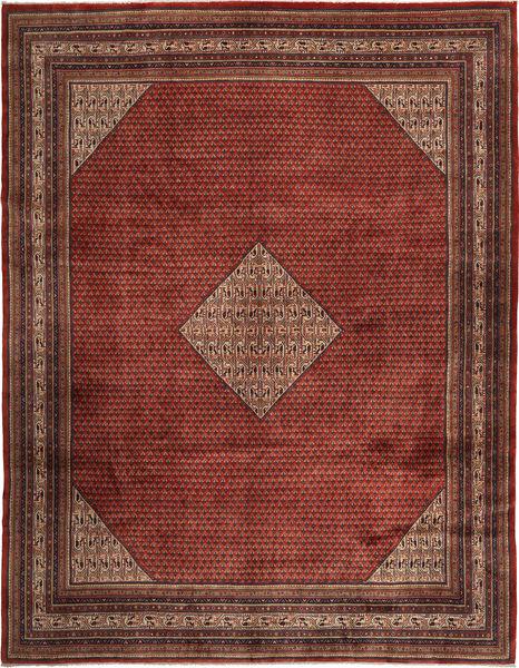 Sarough Mir Alfombra 300X390 Oriental Hecha A Mano Rojo Oscuro/Marrón Oscuro Grande (Lana, Persia/Irán)