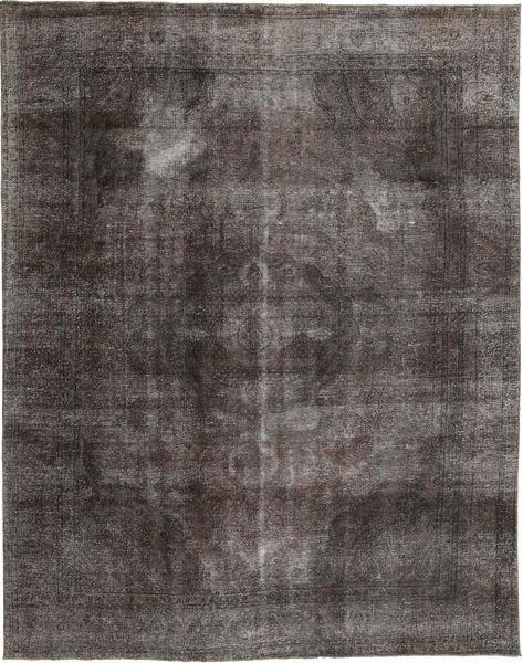 カラード ヴィンテージ 絨毯 253X325 モダン 手織り 濃いグレー/紺色の 大きな (ウール, ペルシャ/イラン)