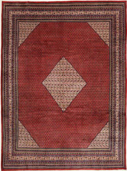 Sarough Mir Matto 298X390 Itämainen Käsinsolmittu Tummanpunainen/Ruskea Isot (Villa, Persia/Iran)