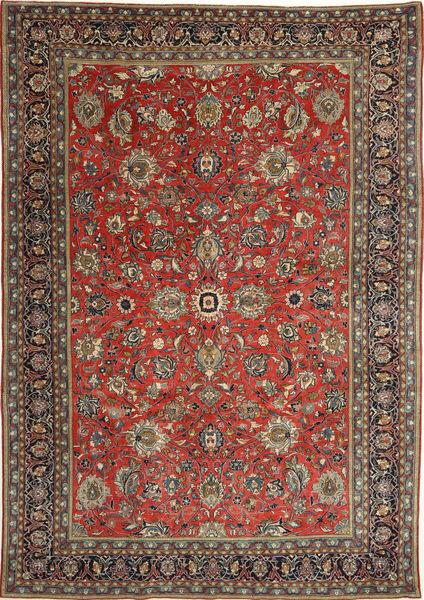 Sarough Patina Matto 236X347 Itämainen Käsinsolmittu Tummanharmaa/Tummanpunainen (Villa, Persia/Iran)
