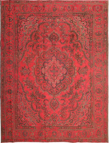 Colored Vintage Rug 245X315 Authentic  Modern Handknotted Dark Red/Brown (Wool, Persia/Iran)
