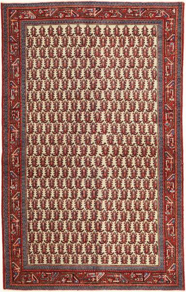 Arak Patina Rug 130X210 Authentic  Oriental Handknotted Brown/Dark Brown (Wool, Persia/Iran)
