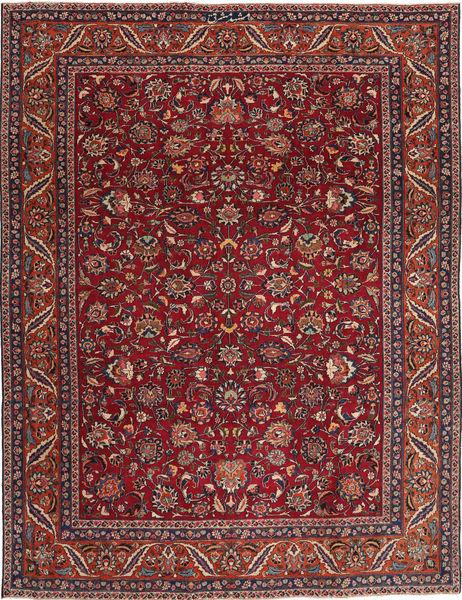 Mashad Patina Alfombra 240X325 Oriental Hecha A Mano Rojo Oscuro/Marrón (Lana, Persia/Irán)
