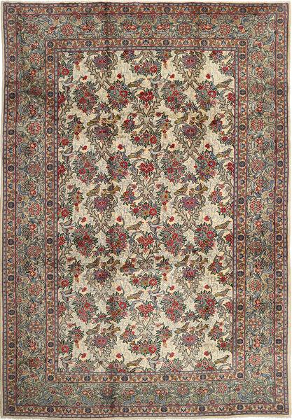 Najafabad Matto 270X390 Itämainen Käsinsolmittu Vaaleanruskea/Tummanharmaa Isot (Villa, Persia/Iran)