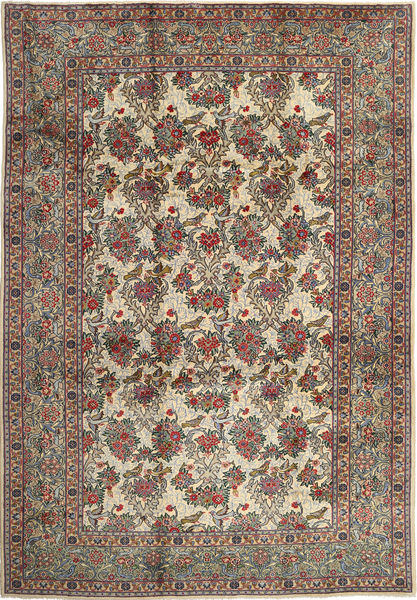 Najafabad Rug 270X390 Authentic  Oriental Handknotted Light Brown/Dark Grey Large (Wool, Persia/Iran)