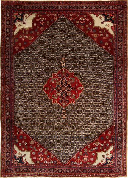 Koliai Matto 212X295 Itämainen Käsinsolmittu Tummanpunainen/Tummanruskea (Villa, Persia/Iran)