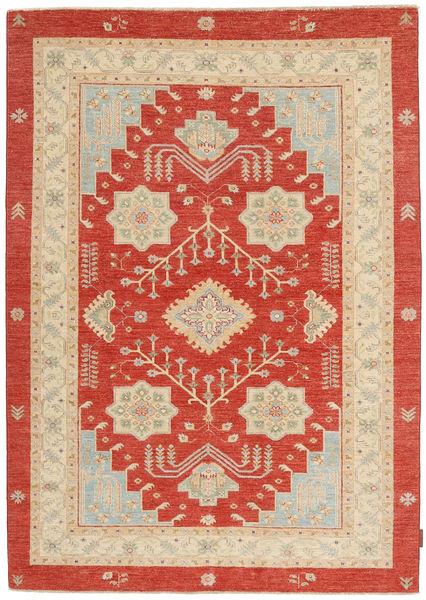 Ziegler Matto 151X203 Itämainen Käsinsolmittu Ruoste/Vaaleanruskea (Villa, Pakistan)