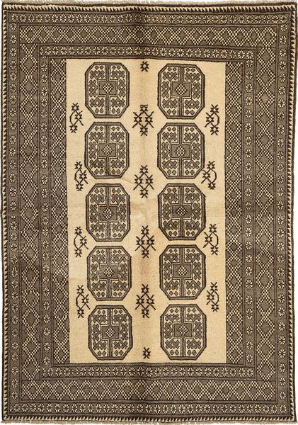 Afghan Natural Matto 164X235 Itämainen Käsinsolmittu Vaaleanruskea/Tummanruskea (Villa, Afganistan)