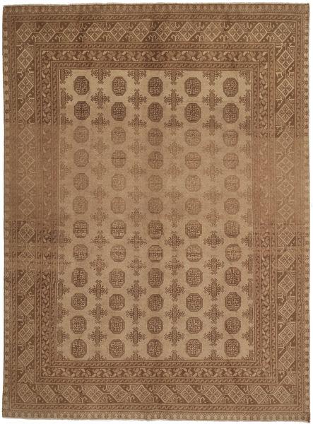 Afgan Dywan 191X271 Orientalny Tkany Ręcznie Brązowy (Wełna, Afganistan)