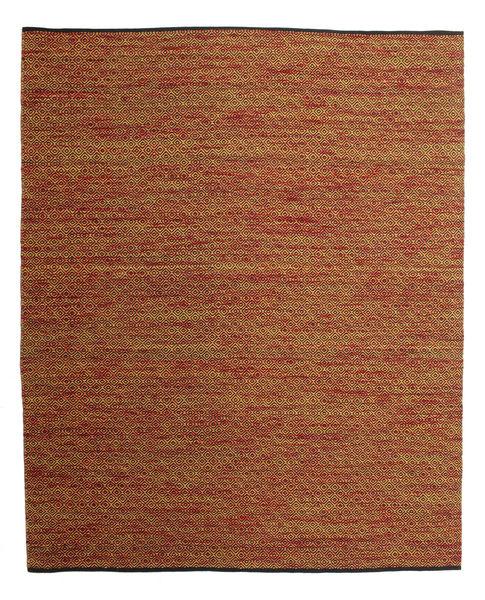 Hugo - Multi/Rust Rug 250X300 Authentic  Modern Handwoven Dark Brown/Brown/Rust Red Large ( India)