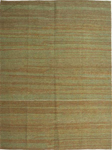 Kilim Modern Rug 179X238 Authentic  Modern Handwoven Olive Green/Light Green (Wool, Persia/Iran)