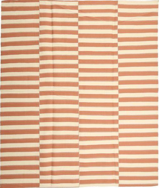 Kelim Moderni Matto 229X267 Moderni Käsinkudottu Vaaleanruskea/Beige/Vaaleanpunainen (Puuvilla, Persia/Iran)