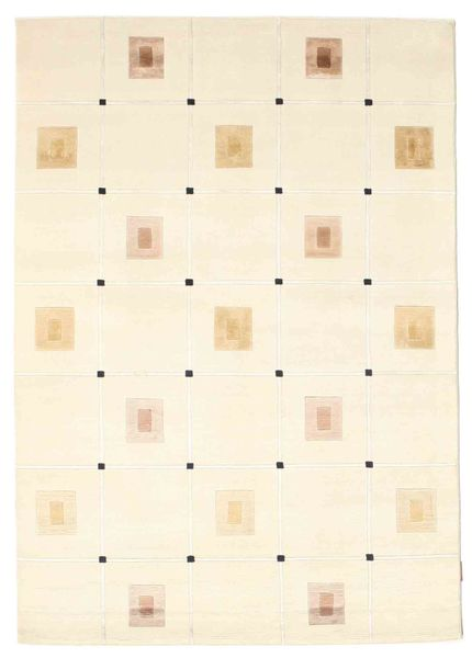 Himalaya Rug 140X200 Authentic  Modern Handknotted Beige ( India)