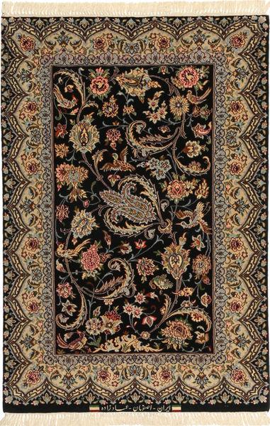 Isfahan Seidenkette Teppich AXVZC622