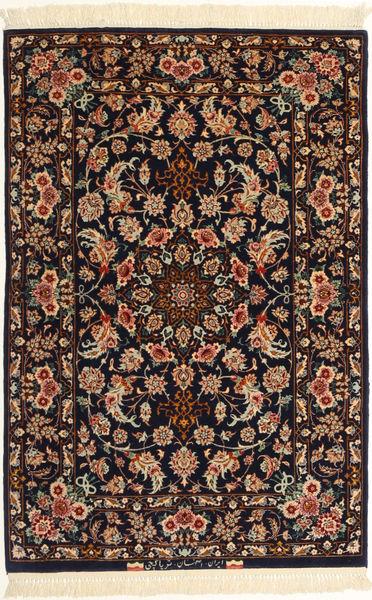 Isfahan zijden pool tapijt AXVZC640