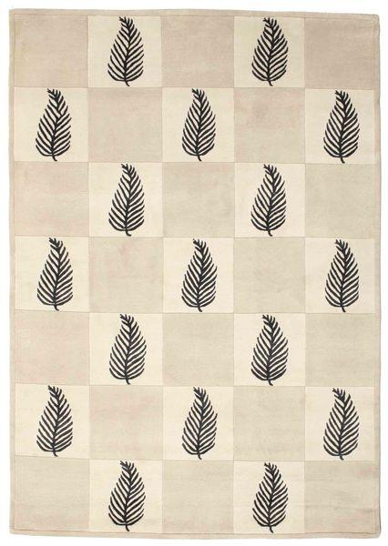Himalaya 絨毯 138X196 モダン 手織り ベージュ/薄い灰色 (ウール, インド)