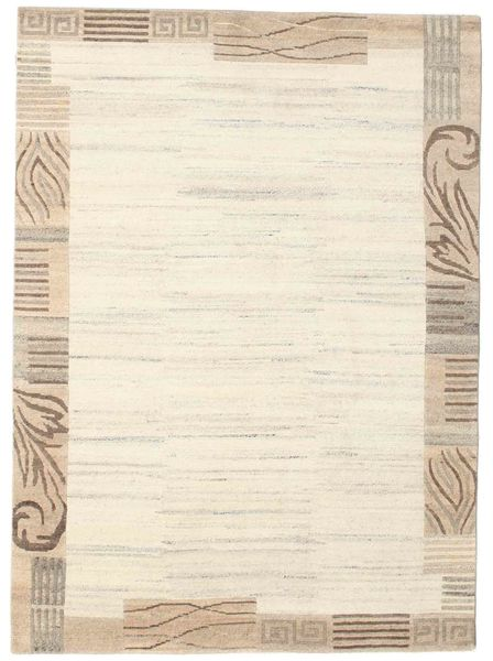 Himalaya Rug 173X238 Authentic  Modern Handknotted Beige/Light Brown ( India)